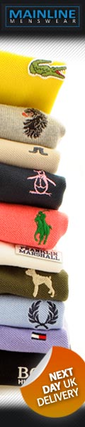 Mainline Menswear Summer Polo Shirts