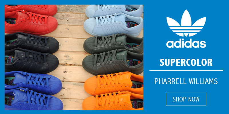 Adidas Originals x Pharrell Williams Supercolour Available Now