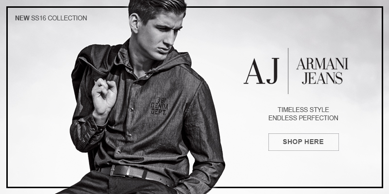 Brand New Spring Summer Armani Jeans Online Now