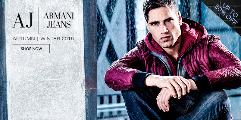 Up to 50% off Armani
