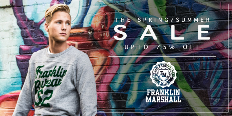 Franklin Marshall Final Reductions Now On - Upto 75% Off