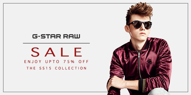 G Star Final Reductions Now On - Upto 75% Off