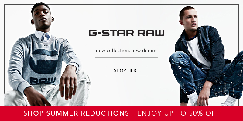 Upto 50% Off G Star Raw at Mainline Menswear