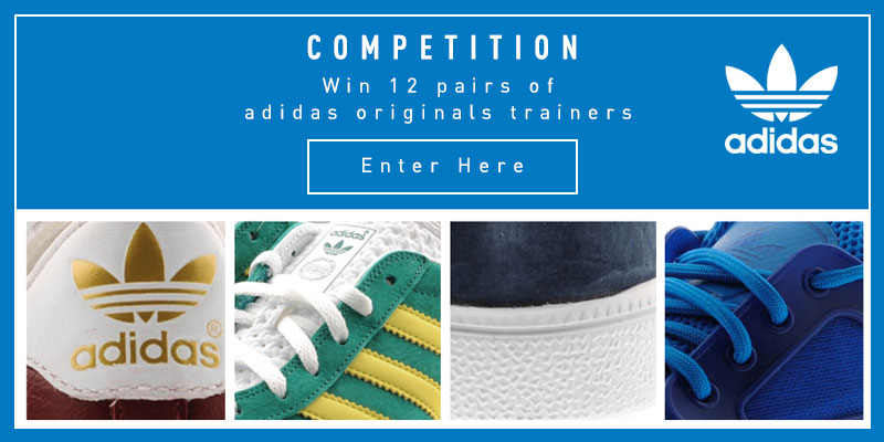 Competition: Win 12 Pairs of Adidas Originals Trainers