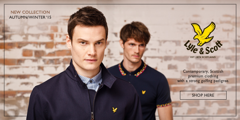Autumn Winter 2015 Lyle and Scott Online Now