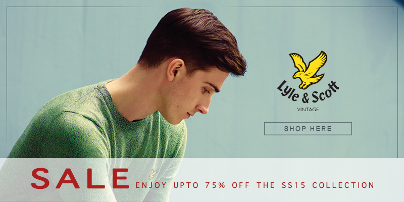 Lyle & Scott Final Reductions Now On - Upto 75% Off