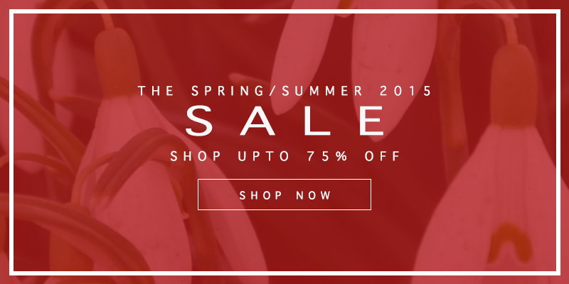 Final Reductions Now On - Upto 75% Off