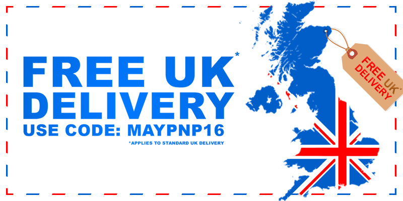 Free UK Delivery - Use Code: MAYPNP16