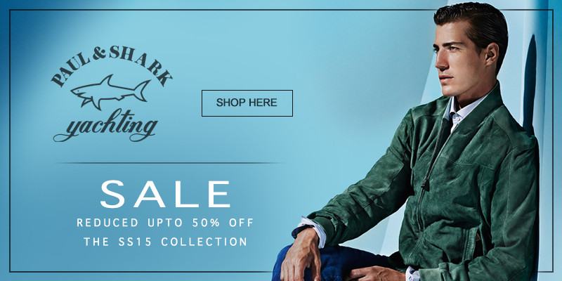 Upto 50% Off Paul and Shark at Mainline Menswear