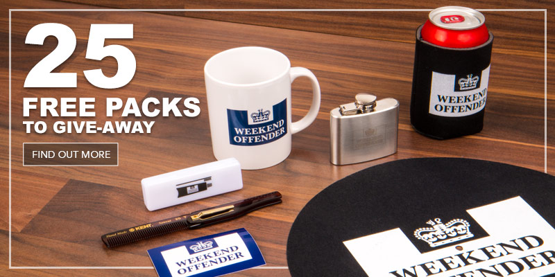 Get Your Free Weekend Offender Gift Pack