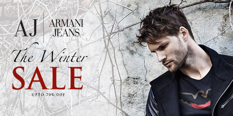 Final Reductions in the Winter Sale - Upto 70% Off Armani