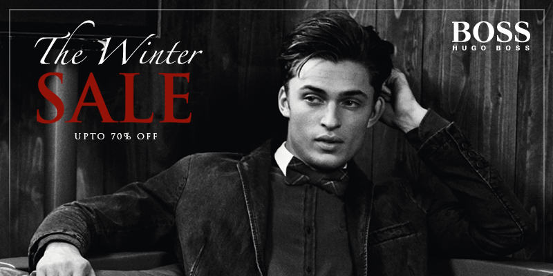 Final Reductions in the Winter Sale - Upto 70% Off Hugo Boss