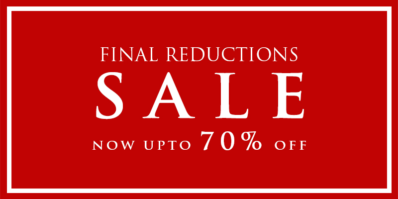 Final Reductions - Upto 70% Off Sale Items