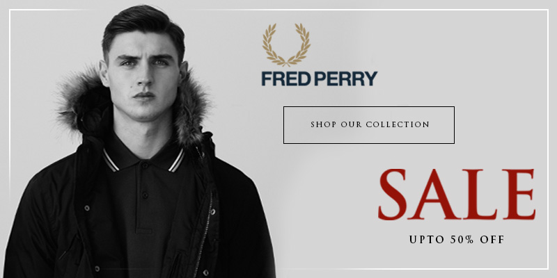 Upto 50% Off Fred Perry