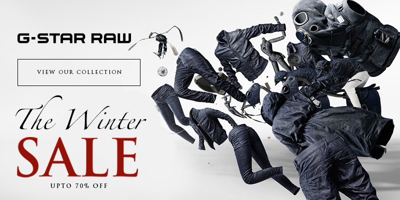 Final Reductions in the Winter Sale - Upto 70% Off G Star