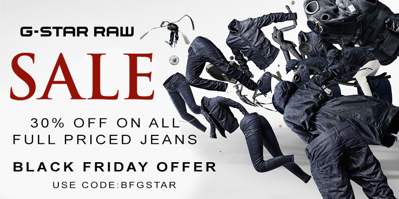 30% Off All Full Priced G Star Jeans at Mainline Menswear