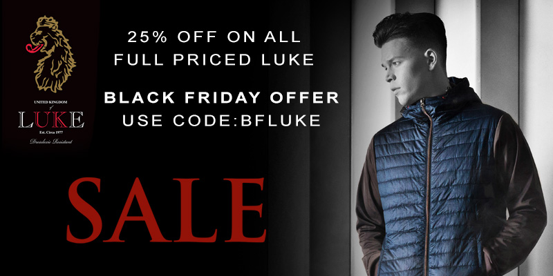 25% Off All Full Priced Luke 1977 at Mainline Menswear