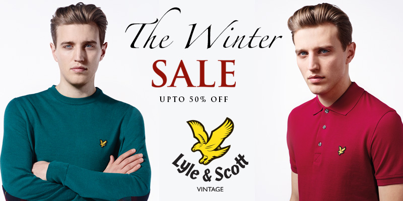 Upto 50% Off Lyle and Scott