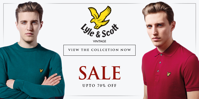 Final Reductions in the Winter Sale - Upto 70% Off Lyle and Scott