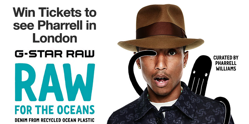 Win Tickets to See Pharrell