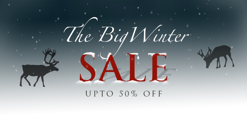 Winter Sale Now On Upto 50% Off