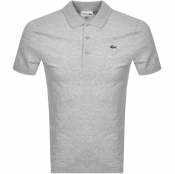 Lacoste Sport Short Sleeved Polo T Shirt Grey