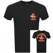 Deus Ex Machina Devil Canggu Logo T Shirt Black