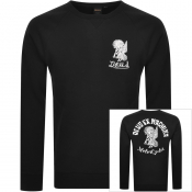 Deus Ex Machina Devil Address Sweatshirt Black