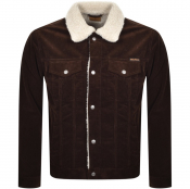 Nudie Jeans Bonny Corduroy Pile Jacket Brown