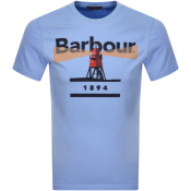 Barbour Lighthouse 94 T Shirt Blue