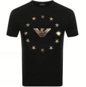 Emporio Armani Crew Neck T Shirt Black