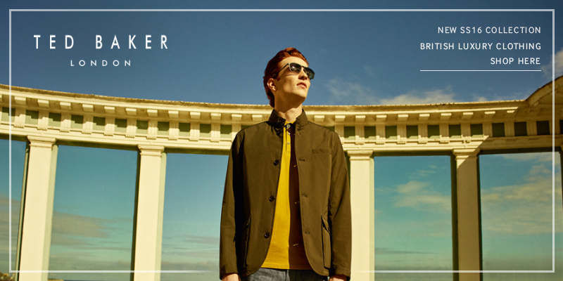 Spring Summer 2016 Ted Baker Online Now