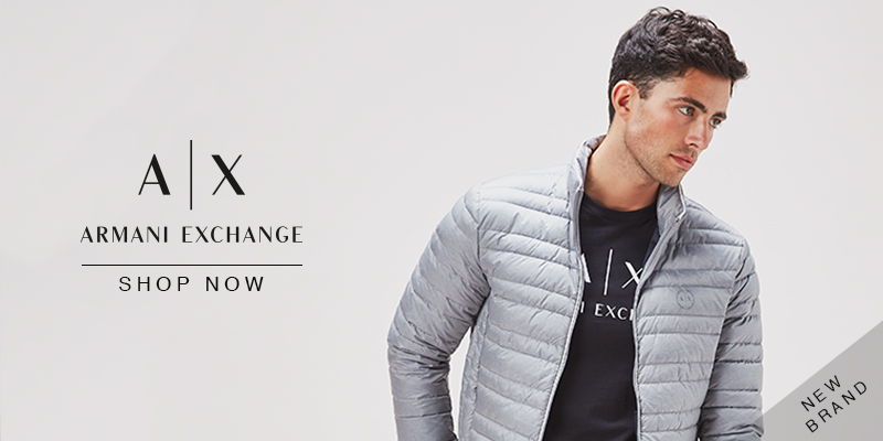Just Launched - Armani Exchange - Shop Now