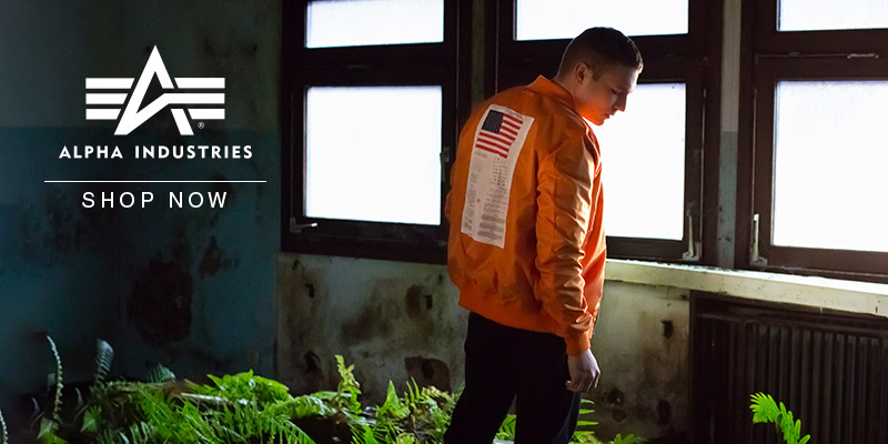 Alpha Industries SS18 - Shop Now