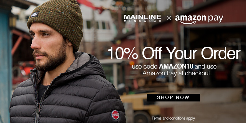 Get 10% off using Amazon Pay and using code AMAZON10 at checkout