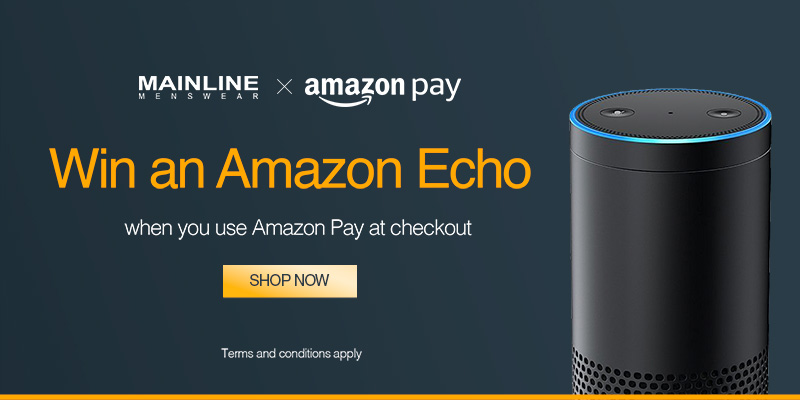Win an Amazon Echo - When you use Amazon Pay at Checkout