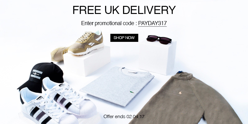Free UK Delivery on All Orders - Use Code: PAYDAY317