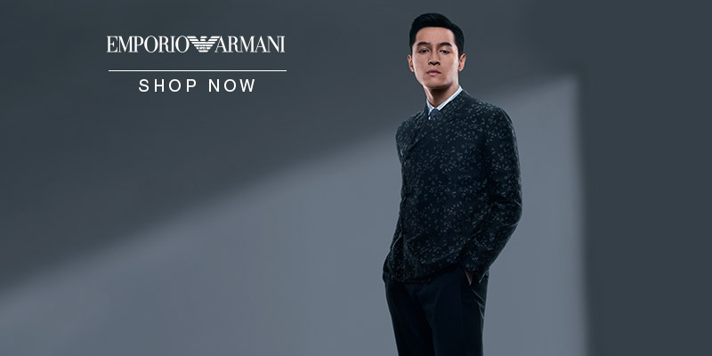 Emporio Armani - Spring Summer 18 Collection - Shop Now