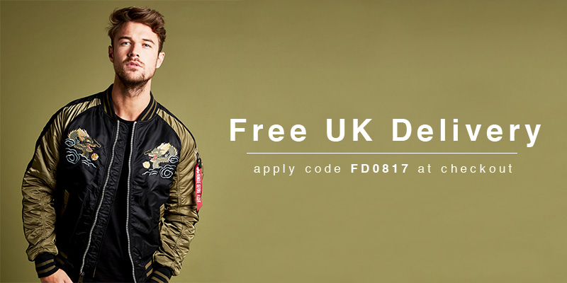 Free UK Delivery - Use Code: FD0817