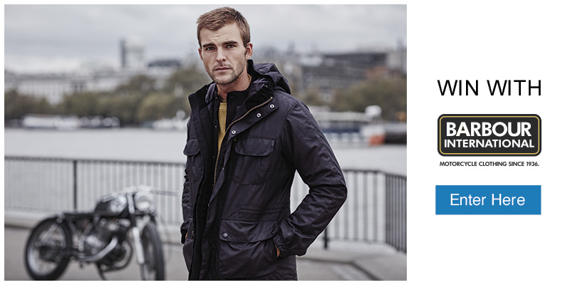 Win with Barbour International - Enter Here