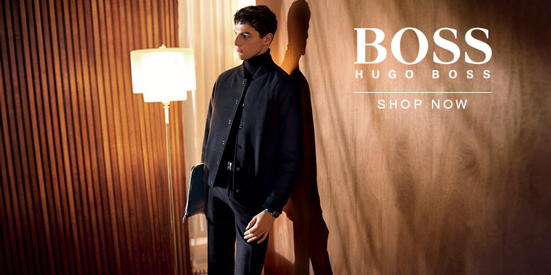 BOSS HUGO BOSS - Autumn Winter 17 Collection - Shop Now