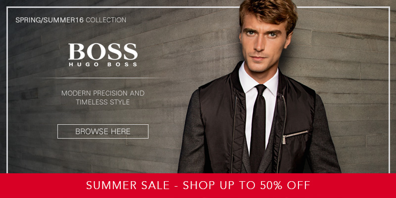 Up to 50% Off Hugo Boss at Mainline Menswear