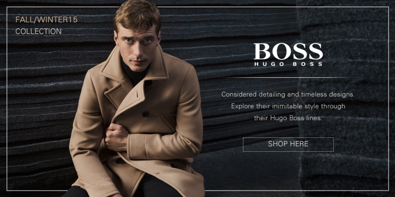 Autumn Winter 2015 Hugo Boss Online Now