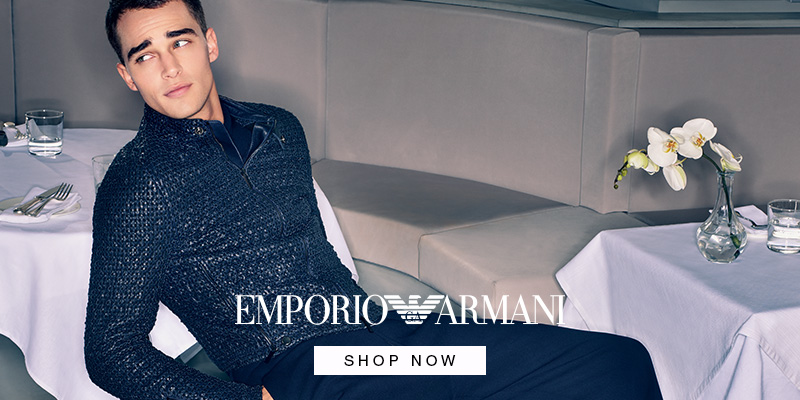 Emporio Armani AW18 Collection - Shop Now