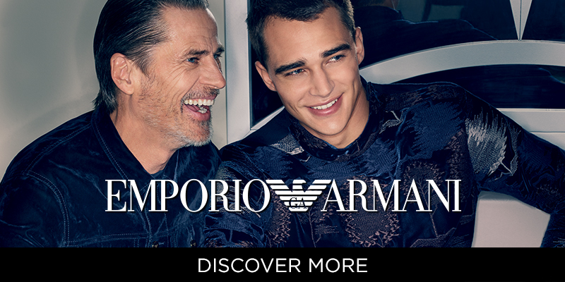 Emporio Armani - Autumn Winter 18 Collection - Shop Now