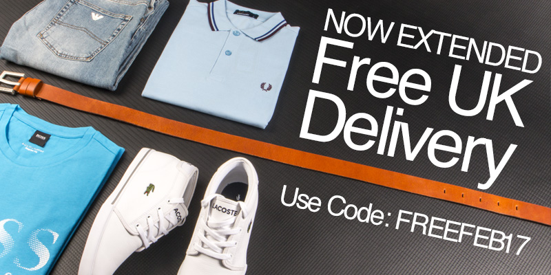 Now Extended Free UK Delivery - Use Code: FREEFEB17