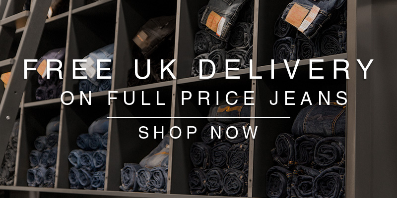 Free UK Delivery on full price Jeans!