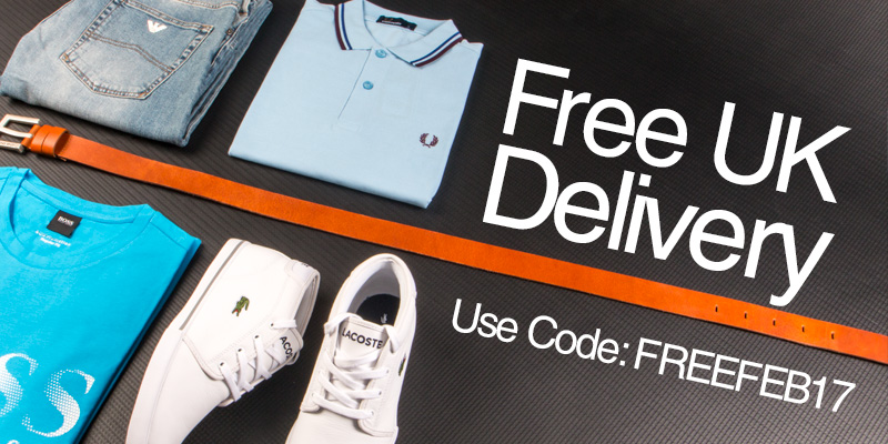Free UK Delivery - Use Code: FREEFEB17