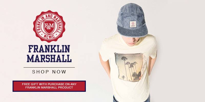 Franklin Marshall SS18 Collection + Free Gift With Purchase* - Shop Now