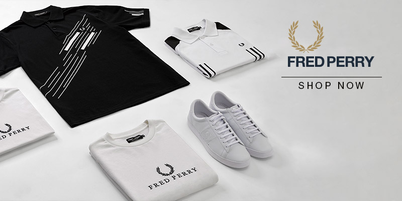 Shop Fred Perry - Spring Summer 2018